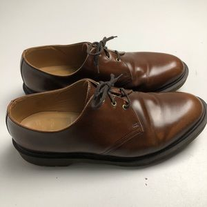 Dr. Martens Brown Dress Shoes Made In England